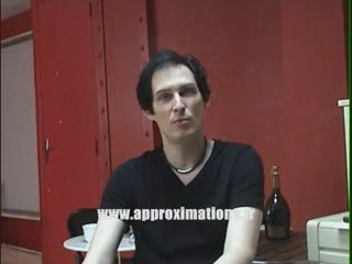 Dorian Gray interview part.1/2 (AMPLi) -2009