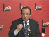 France Inter - François Hollande