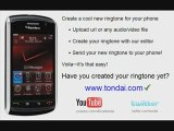 How to make your own ringtone for your cell / mobile phone